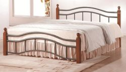 Dvoulůžková postel - Calabria 9059