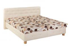 Čalouněná dvoulůžková postel - Hermína
