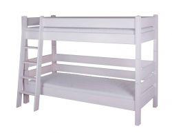 Dřevěná palanda - Sendy č.300W + č.301W bílá