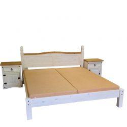 Dvoulůžková postel - Corona 163624B