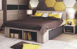 Dvoulůžková postel - Roma 6036