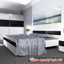 Dvoulůžková postel - Devon New