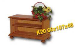 Masivní TV stolek - K20 Louda