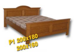 Dvoulůžková postel - P1 Louda