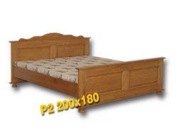 Dvoulůžková postel - P2 Louda