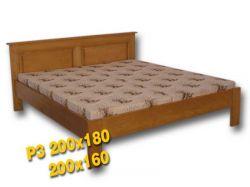 Dvoulůžková postel - P3 Louda