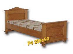 Jednolůžková postel - P4 Louda
