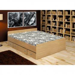 Dvoulůžková postel - Duet