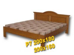 Dvoulůžková postel - P7 Louda