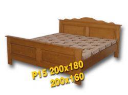 Dvoulůžková postel - P15 Louda