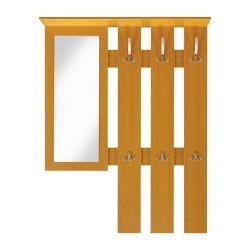 Věšák se zrcadlem - 218D - horní díl