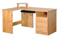 Variabilní psací stůl z masivu - B041