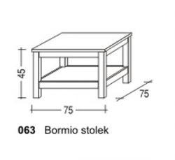 Konferenční stolek - Bormio č.063