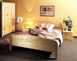 Dvoulůžková postel - Berghen senior č.191