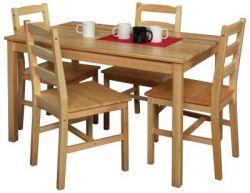 Dřevěný jídelní stůl - 7848