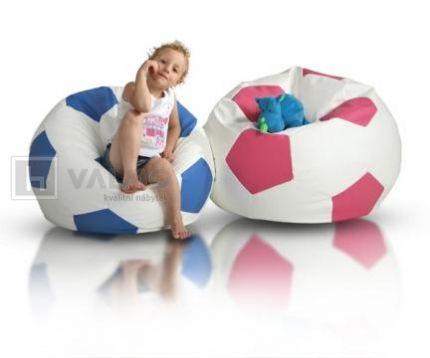 Sedací vak - míč - Sport S ekokůže
