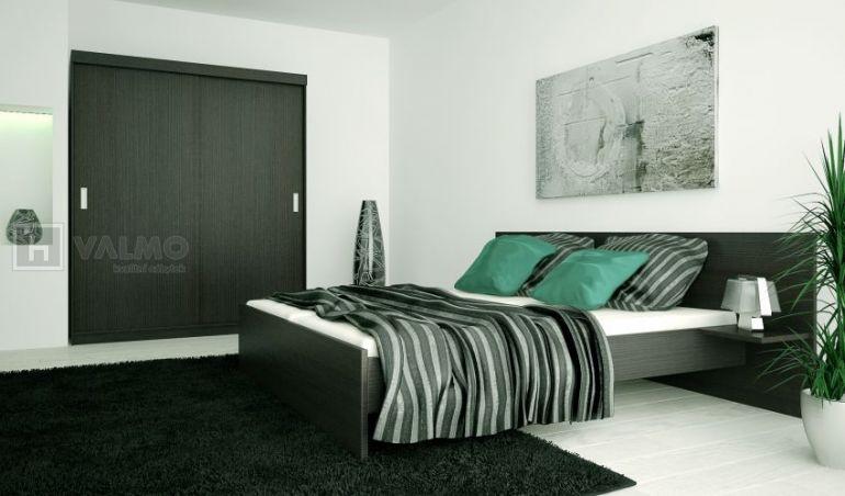 Vyrobeno v ČR Dvoulůžková postel s nočními stolky - Eden P1605 (P1805) 12faf58d915